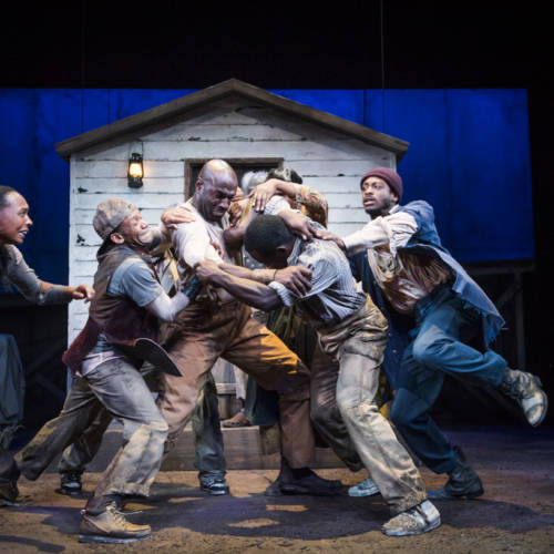 A scene from Father Comes Home From The Wars by Suzan-Lori Parks ©Tristram Kenton