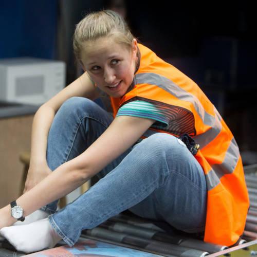 Erin Doherty as Tamsin Carmody in WISH LIST Photo Jonathan Keenan