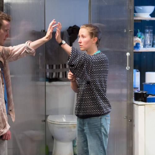 Joseph Quinn as Dean Carmody and Erin Doherty as Tamsin Carmody in WISH LIST Photo Jonathan Keenan