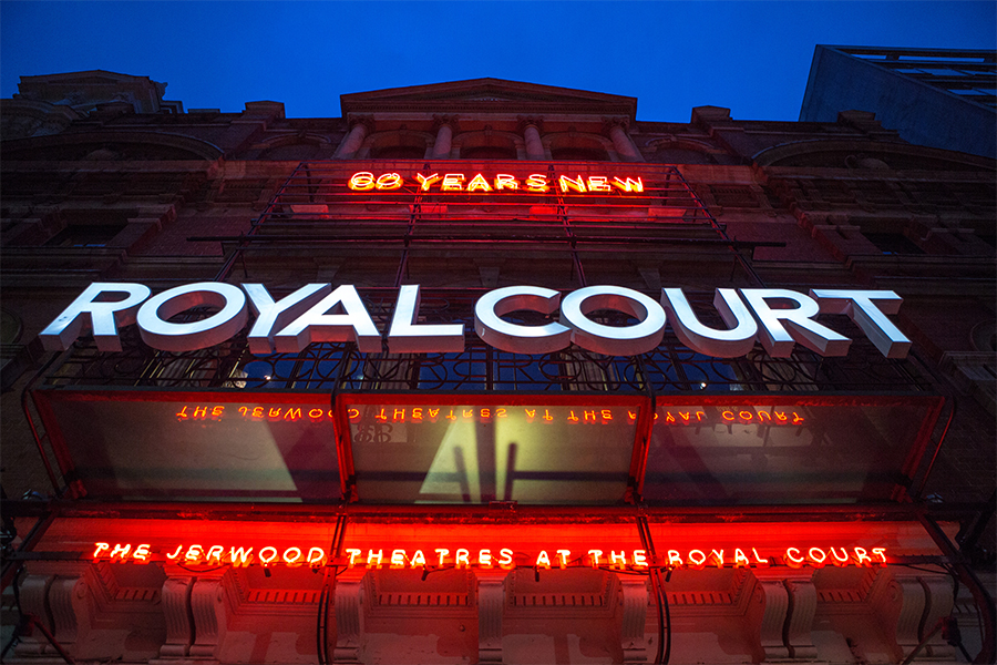 Royal Court Neon