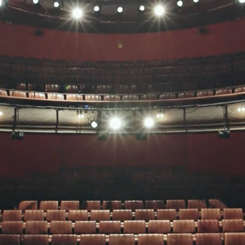 Royal Court Theatre - On Stage - crop
