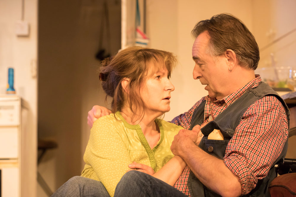 Deborah Findlay and Ron Cook in The Children by Lucy Kirkwood (Photo: Johan Persson)