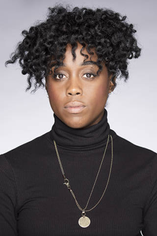 Lashana Lynch Photo by Johan Persson