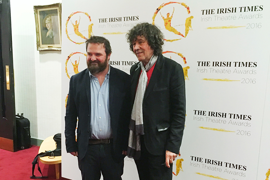 David Ireland and Stephen Rea