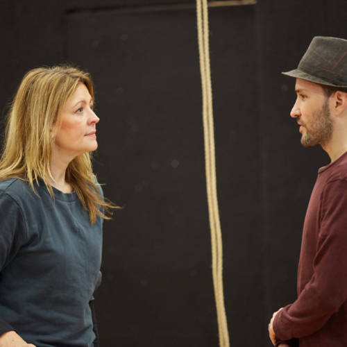 Rachel O'Riordan (Director), Richard Mylan (Paul) Credit: Mark Douet