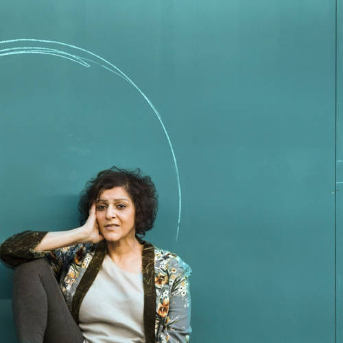 Meera Syal (Woman) in a profoundly affectionate, passionate devotion to someone (-noun) by debbie tucker green (Photo: Stephen Cummiskey)