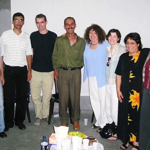 Palestine 2004 – workshop with Al Harah Theatre 2004, Rufus Norris, Elyse Dodgson and Sacha Wares