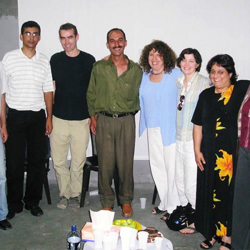 Palestine 2004 – workshop with Al Harah Theatre 2004, Rufus Norris, Elyse Dodgson and Sacha Wares