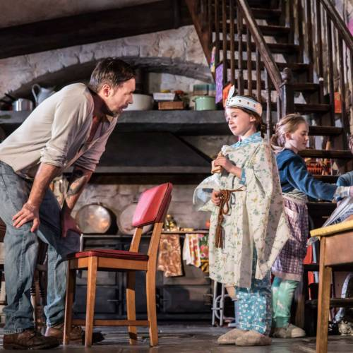 Paddy Considine, Sophia Ally, Elise Alexandre and Rob Malone in The Ferryman by Jez Butterworth (Photo: Johan Persson)