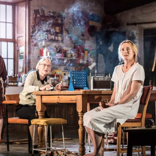 Laura Donnelly, Dearbhla Molloy and Genevieve O'Reilly in The Ferryman by Jez Butterworth (Photo: Johan Persson)
