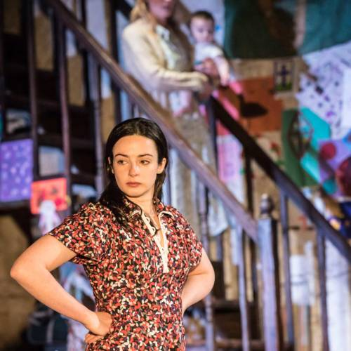 Laura Donnelly and Genevieve O'Reilly in The Ferryman by Jez Butterworth (Photo: Johan Persson)