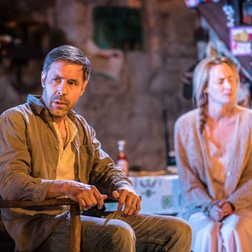 Paddy Considine and Genevieve O'Reilly in The Ferryman by Jez Butterworth (Photo: Johan Persson)