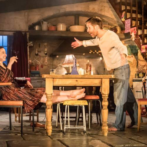 Laura Donnelly and Paddy Considine in The Ferryman by Jez Butterworth (Photo: Johan Persson)