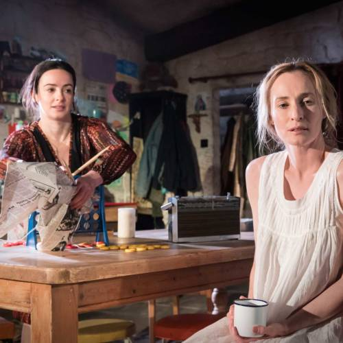 Laura Donnelly and Genevieve O'Reillyin The Ferryman by Jez Butterworth (Photo: Johan Persson)