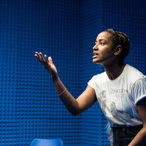 Amaka Okafor in It's All Made Up by Deborah Pearson (Photo: Chloe Lamford)