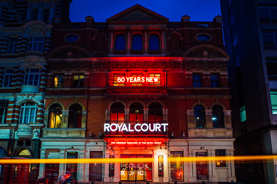 The Royal Court Theatre Recipient of 50/50 Applause Award for ...