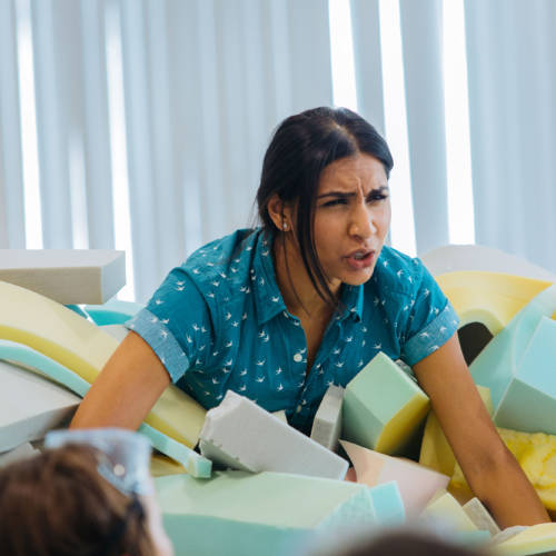 Kiran Landa (Cast) Primetime 2017 (Photo: Helen Murray)