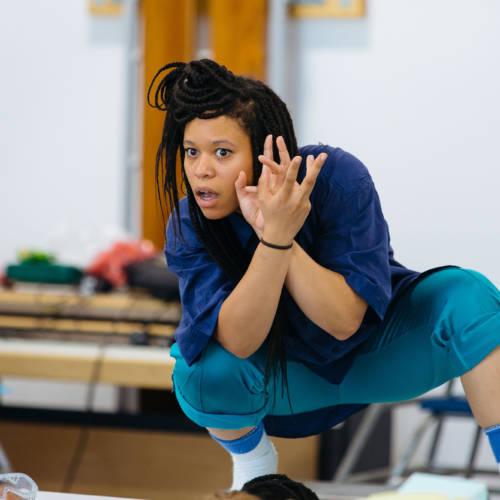 Sarah Golding (Cast & Choreographer) Primetime 2017 (Photo: Helen Murray)