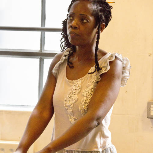 Lorna Brown (Oni) in Bodies by Vivienne Franzmann (Photo: Bronwen Sharp)