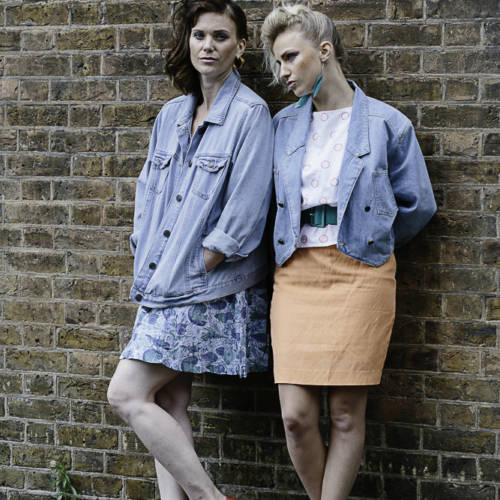 Liz White and Faye Marsay for Road by Jim Cartwright (Photo: Sarah Weal)