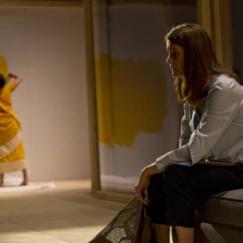 Salma Hoque (Lakshmi) and Justine Mitchell (Clem) in Bodies by Vivienne Franzmann (Photo: Bronwen Sharp)