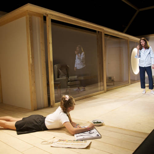 Hannah Rae (Daughter) and Justine Mitchell (Clem) in Bodies by Vivienne Franzmann (Photo: Bronwen Sharp)