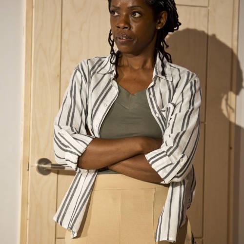 Lorna Brown (Oni) in Bodies by Vivienne Franzmann (Photo: Bronwen Sharp)