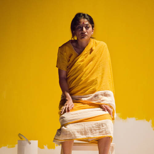 Salma Hoque (Lakshmi) in Bodies by Vivienne Franzmann (Photo: Bronwen Sharp)