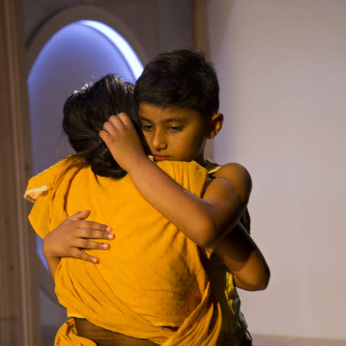 Rohan Shinn (Boy) in Bodies by Vivienne Franzmann (Photo: Bronwen Sharp)