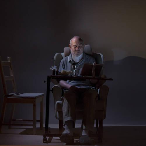 Philip Goldacre (David) in Bodies by Vivienne Franzmann (Photo: Bronwen Sharp)