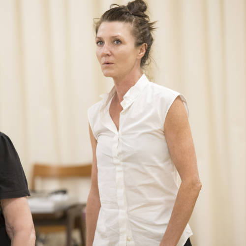 in rehearsal for Road by Jim Cartwright (Photo: Johan Persson)