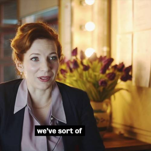 Shoe Lady | Katherine Parkinson on E.V. Crowe