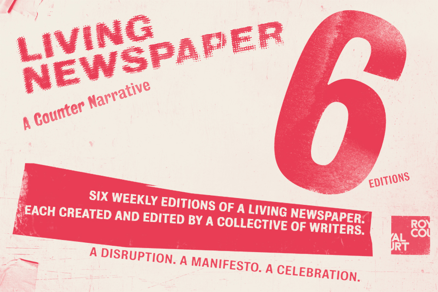 Find out more about Living Newspaper